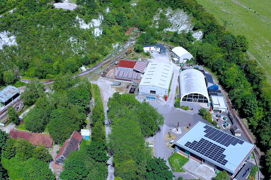 Amberley top end & solar panels