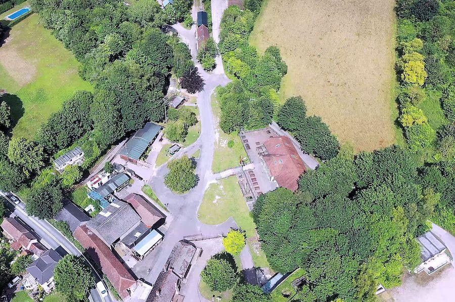 Drone Image Amberley 2