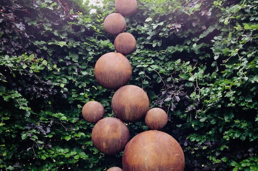 Sculpture Trail 'Pebbles' by Simon Probyn