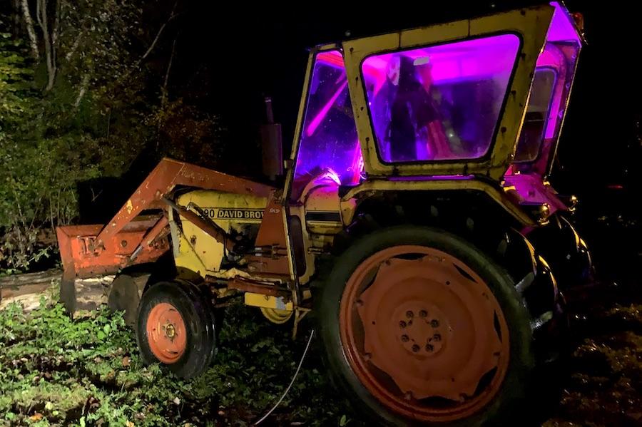 Tractor Halloween Amberley