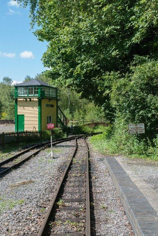 Present Day Amberley Billingshurst Signal Box
