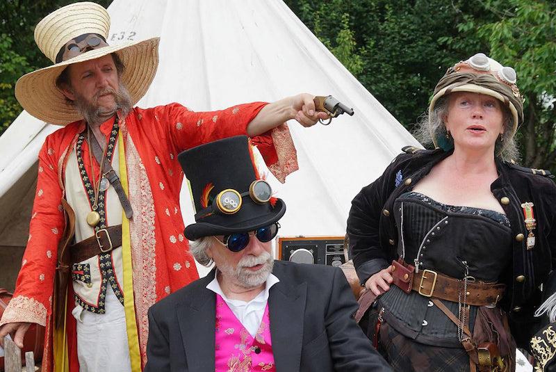Steampunk Fancy Dress Group