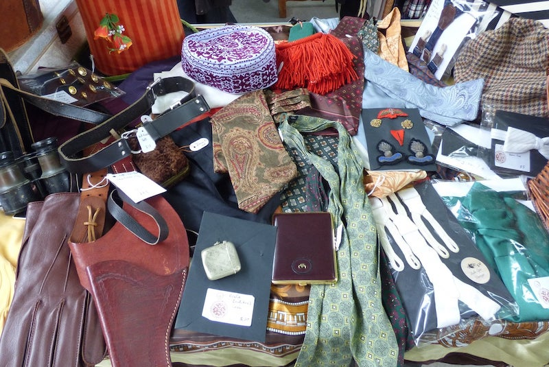 Steampunk Trade Stall clothes