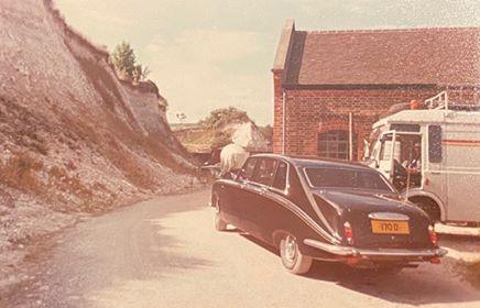 Bond car taken by John White