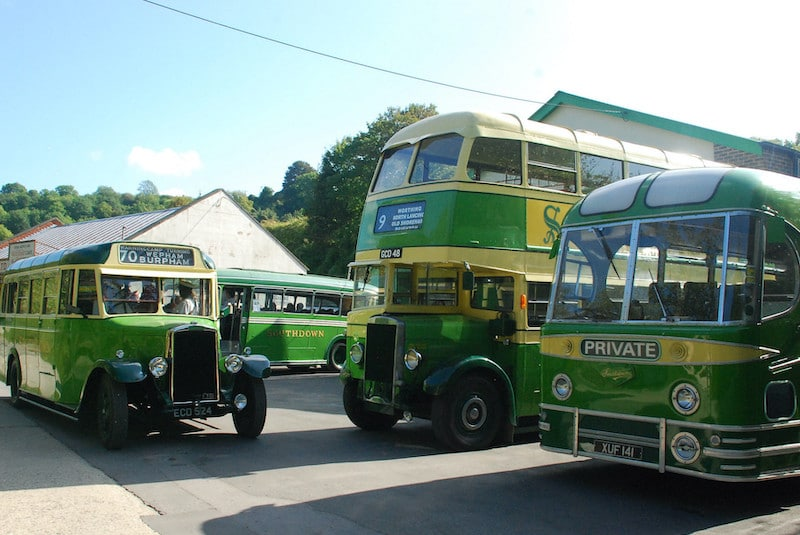 Amberley Bus Show Southdowns Garage