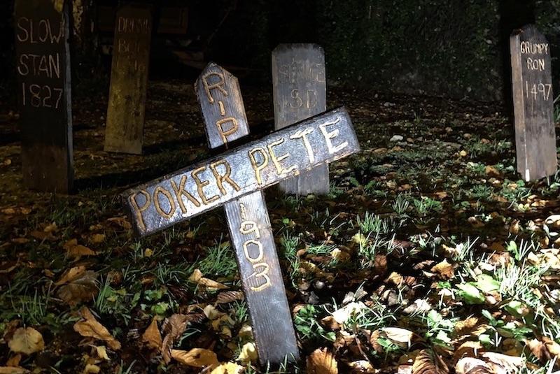 Graveyard Halloween Amberley 2