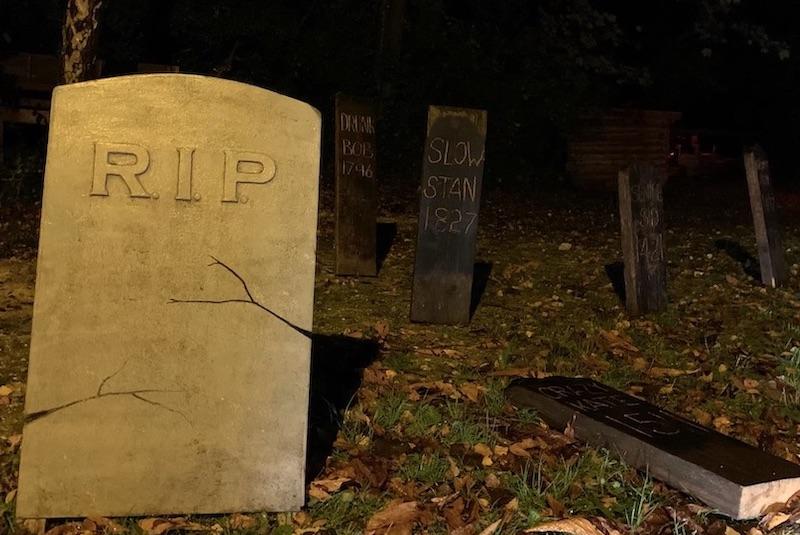 Graveyard Halloween Amberley