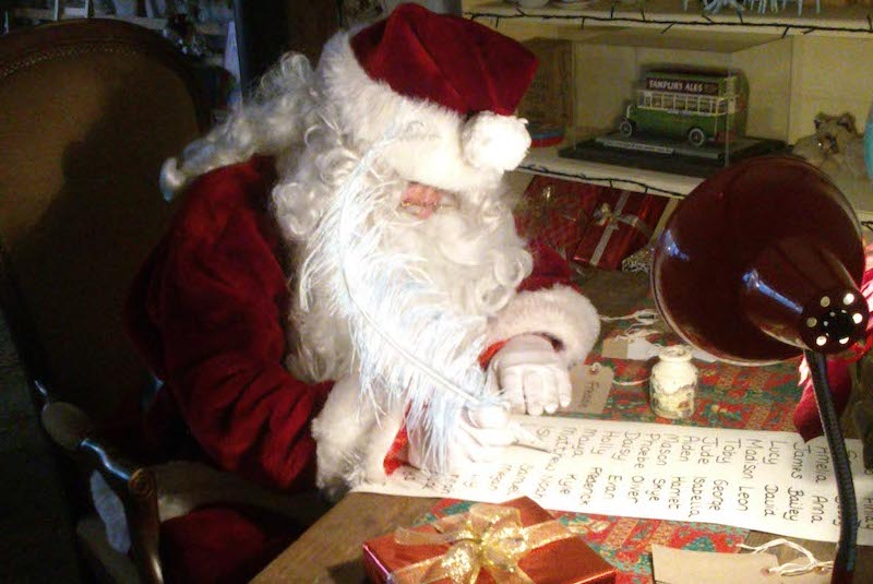 Father Christmas Visit at Amberley